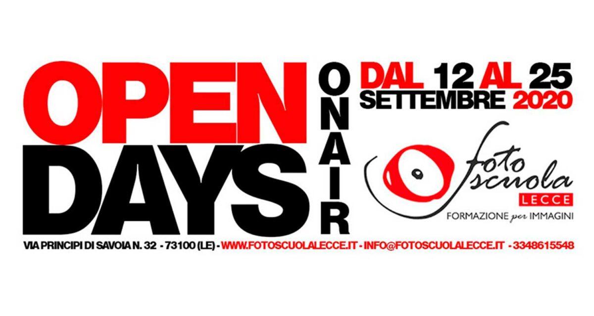 Open Days ON AIR 2020 – Il Programma